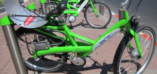 Прокат велосипедов в Тель-Авиве