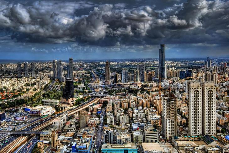 Станция Арлозоров в Тель-Авиве