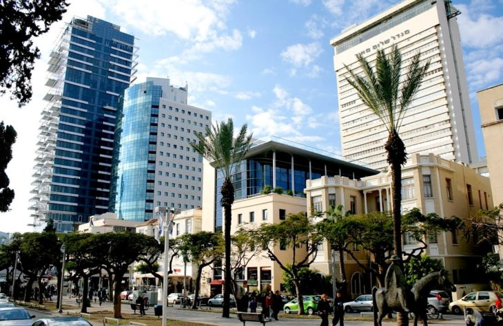 Бульвар Ротшильда в Тель-Авиве