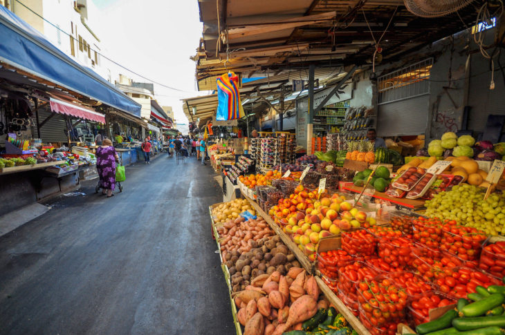 Рынок Кармель в Тель-Авиве