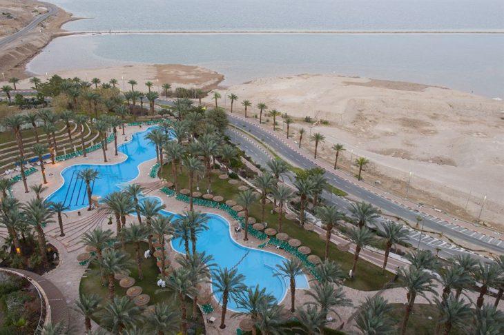 Как добраться из Тель-Авива на Мертвое море. Расстояние Тель-Авив - Мертвое море.